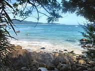 Linda praia de Bombinhas