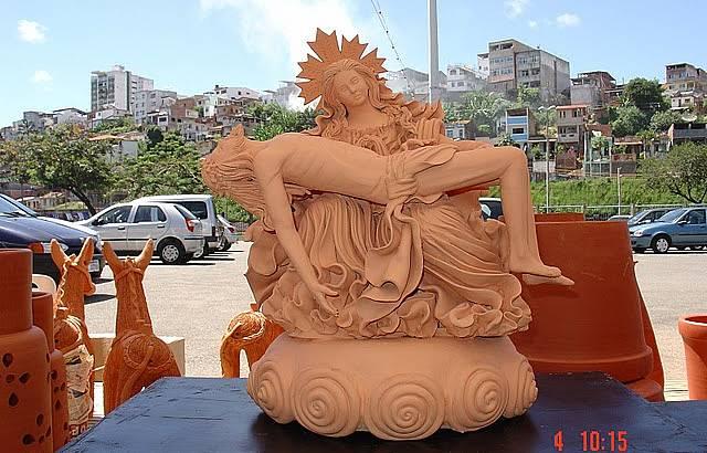 Exposição em Barro de Artesãos de Maragogipe - Ba