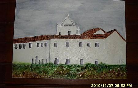 Igreja Reis Magos - Obra da artista Hildete Salaroli