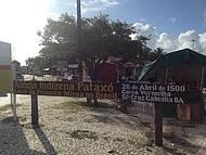 Reserva Indígena Pataxó - entrada da praia