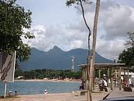 A praia do centro é a mais freqüentada, por ser de mais fácil acesso.