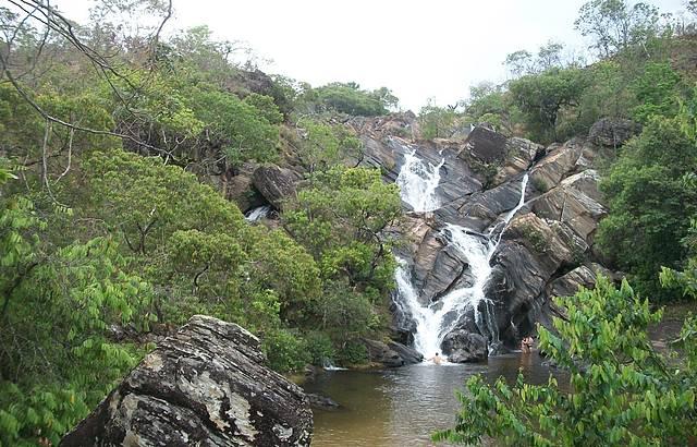 Passeio na cachoeira do Lázaro