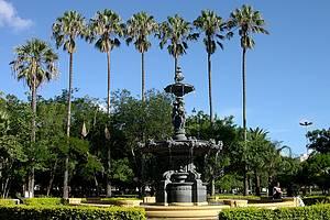 Parque da Redenção / Farroupilha: Ponto de encontro de moradores e turistas -
