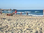 Final de tarde de muito sol na Praia Mole!
