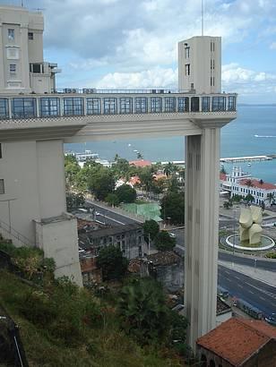 O cl�ssico e inconfund�vel elevador Soteropolitano. Salvador, quem conhece ama!