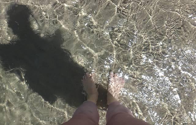 Agua da praia.........