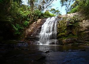 Cachoeira dos Namorados: Banho perfeito após caminhada<br>