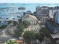 Vista do Mercado Modelo a partir da Cidade Alta