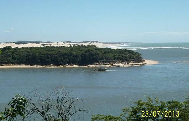 Vista do alto da Praia de Pipa