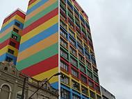 Muito conhecida, a Galeria Pagé dá um colorido especial ao centro de compras !