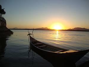 Bucolismo: Pôr do sol no Centro -