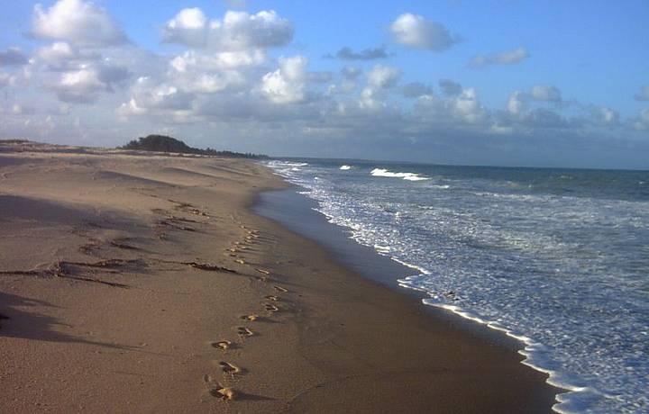 Uma bela praia do sul da Bahia. Vale a pena conhecer.