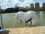Crian�as nas bolhas