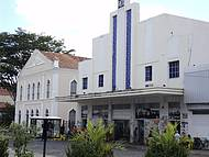 Fachada do Cine Rex e Teatro 4 de Setembro Teresina