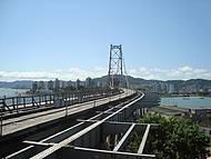 Nova Vista da Ponte Hercílio Luz