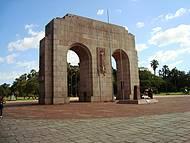 Detalhes do Parque Farroupilha ou Redenção