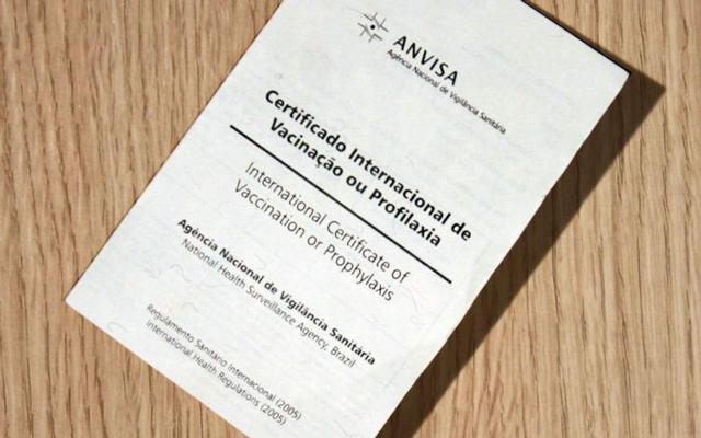 Certificado Internacional é emitido pela Anvisa