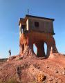 Casa do Osama permite fotos incríveis do cenário