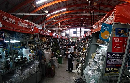 Campo Grande - Interior do Mercado Municipal