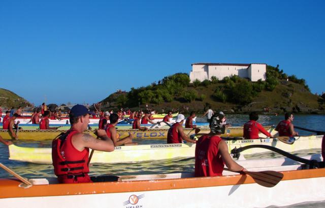 Campeonato rola na praia do Forte