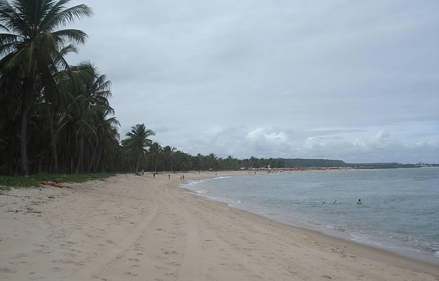 Praia do Gunga. Simplesmente o para�so!