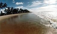 Um lindo amanhecer em uma praia maravilhosa!