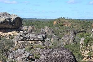 Sete Cidades: Cerrado e caatinga dividem a paisagem<br>