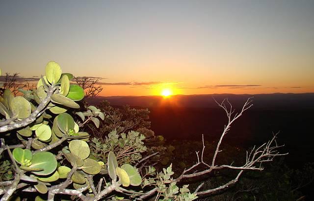 Pôr do Sol espetacular no Morro do Pai Inacio