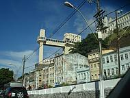 O transporte de ligação entre a Cidade Baixa e a Cidade Alta
