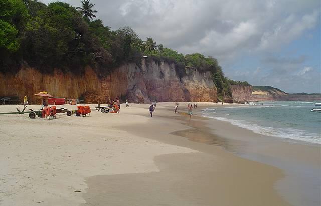 Pela Manhã na Praia Central. Que delícia de lugar!