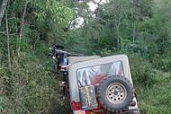 Vencidas em jeeps, levam a belos cenários