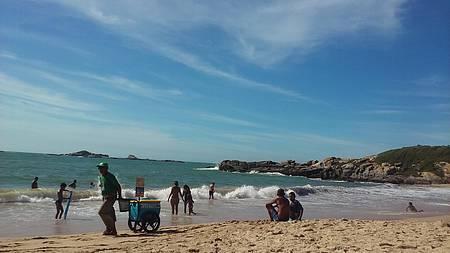 Praia do Remanso - Manhã bucólica no Remanso