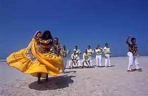 Carimbó: Dança típica é um dos atrativos da ilha<br>