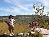 A caminho do Salto do Rio Preto