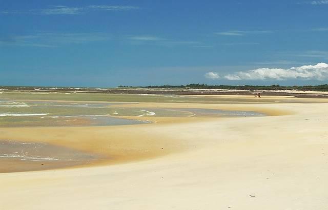 Uma bela praia