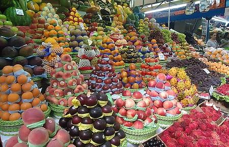 Mercado Municipal - Que bela visão de cores e sabores !!!