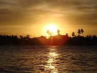 Pôr do Sol em  Aratuba