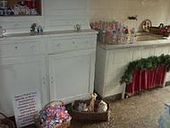 Local onde as crian�as depositam bicos e mamadeiras para o Papai Noel