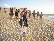 Todos ou quase todos sobem a duna diariamente para admirar o por do sol