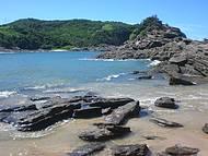 Natureza: Jun��o de mata, areia, pedras, e este mar maravilhoso!