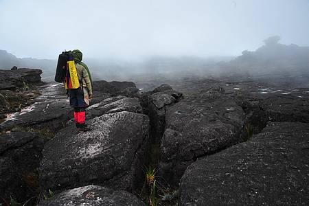 Monte Roraima (RR) de helicóptero - Caminhadas exigem disposição e equipamentos