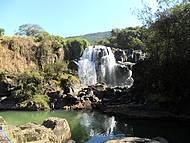 Passeio na cachoeira