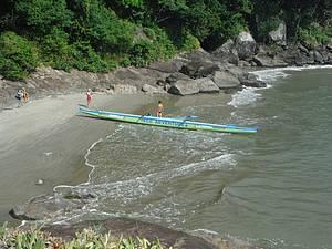 Passear de canoa
