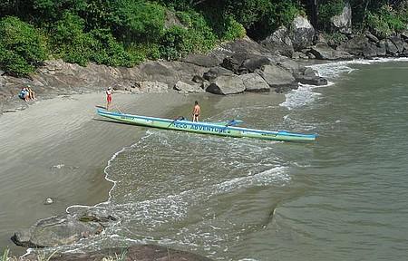 Passear de canoa - Passeio de canoa com a Eco Adventure