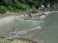 Passeio de canoa com a Eco Adventure