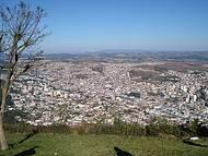 Vista da cidade na Serra de São Domingos