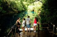 Do deck da Lagoa Misteriosa, vista incrível
