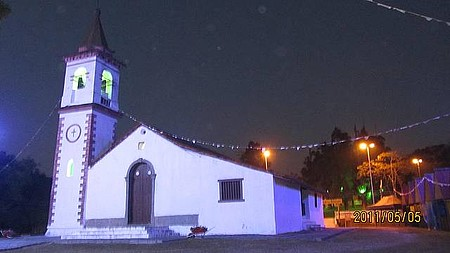 Igrega do Pilar - Iluminaçao do 1ero de Maio