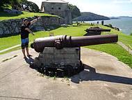Canhões da Ilha de Anhatomirim