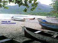 Praia paradisíaca com acesso somente com veículo 4X4